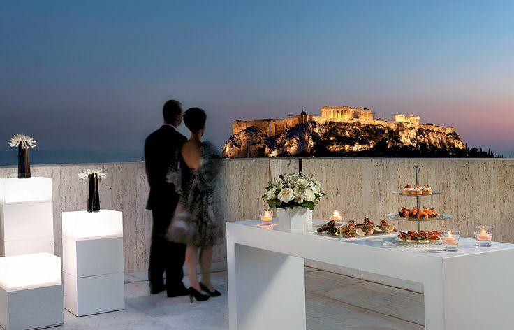 N.J.V. Athens Plaza - To Roof Top στην Προεδρική Σουίτα για exclusive εκδηλώσεις µε φόντο την Ακρόπολη