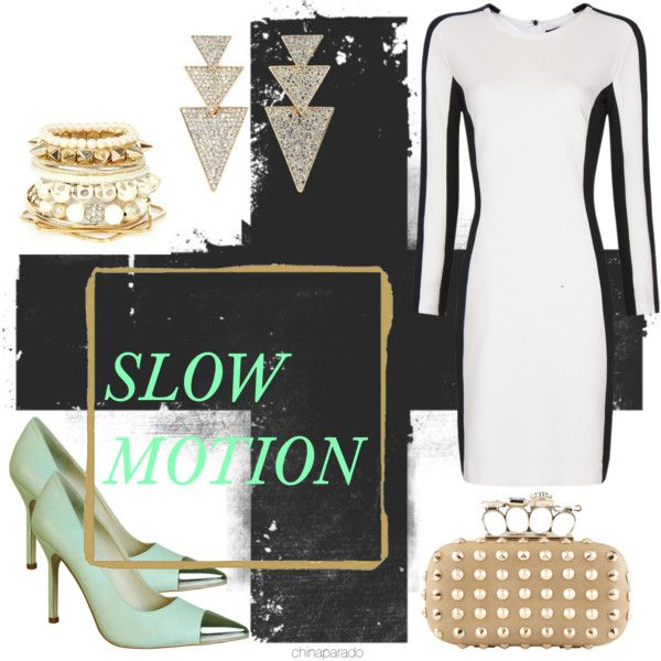 """Slow Motion"" by chinaparado on Polyvore"