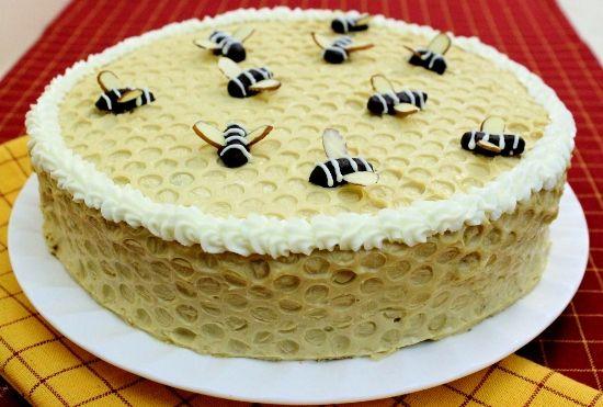 "Chocolate Honey Layer Cake – Торт ""Спартак"" | Russian desserts recipes"