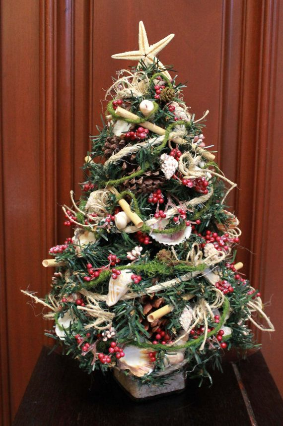 610 best Christmas Table Top Trees images on Pinterest | Christmas ...