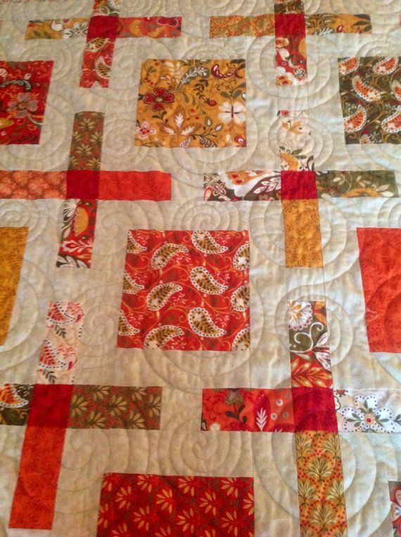 Queen quilt Allure fabric by Moda designed by by QuirkyQuilts