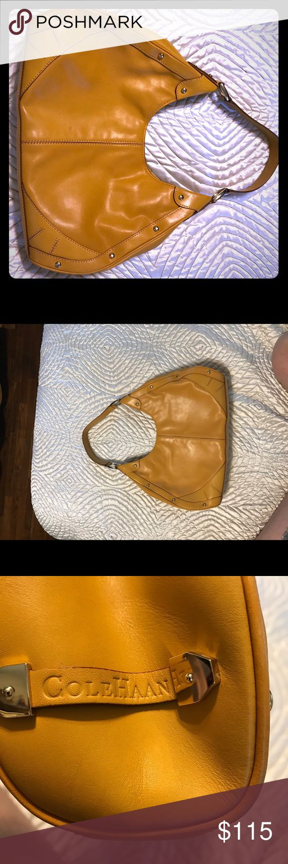 Cole Hahn Bag NWOT This is a buttery soft expensive Cole Hahn bag purchased for me at the Cole Hahn store at the Town Center Mall in Boca Raton and never used. Cole Haan Bags