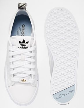 white ladies adidas trainers