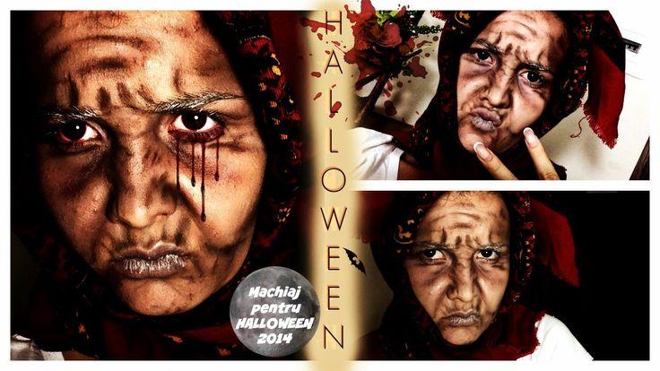 Halloween MAKE UP 2014