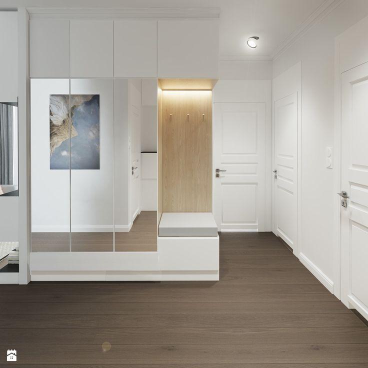 Pojemna szafa z siedziskiem - zdjęcie od Mohav Design - Hol / Przedpokój - Styl Nowoczesny - Mohav Design