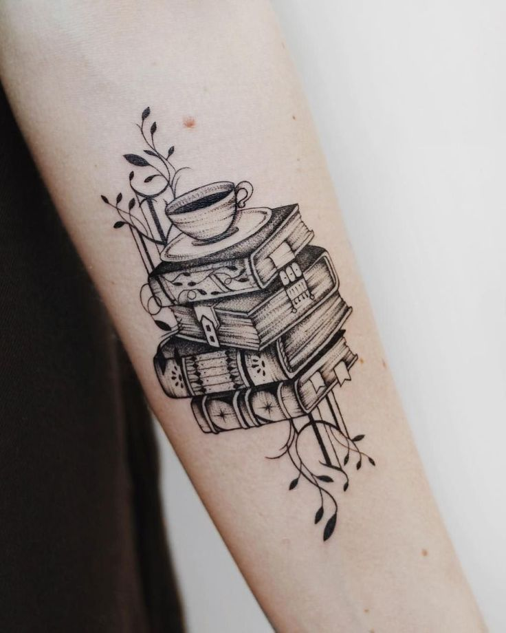 Awesome Book Tattoos for Literature Lovers – #Book Tattoos # Awesome