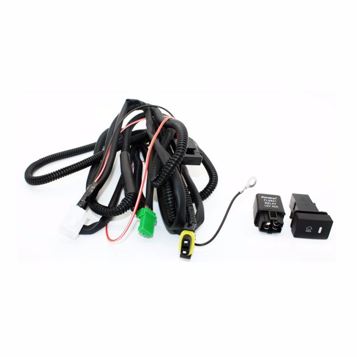 Set Wiring Harness Sockets Wire Switch for H11 Fog Light Lamp for Ford Focus 2008-2014 Acura TSX RDX for Nissan Cube For Suzuki