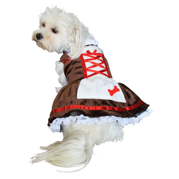 beer garden girl dog halloween costume - Dogs With Halloween Costumes On