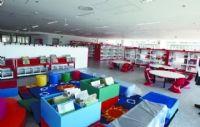 #bibliotecaspordentro Biblioteca y Filmoteca #Navarra Un detalle de la biblioteca infantil, con capacidad para 12.000 documentos. Se encuentra en la planta baja del edificio. JORGE NAGORE