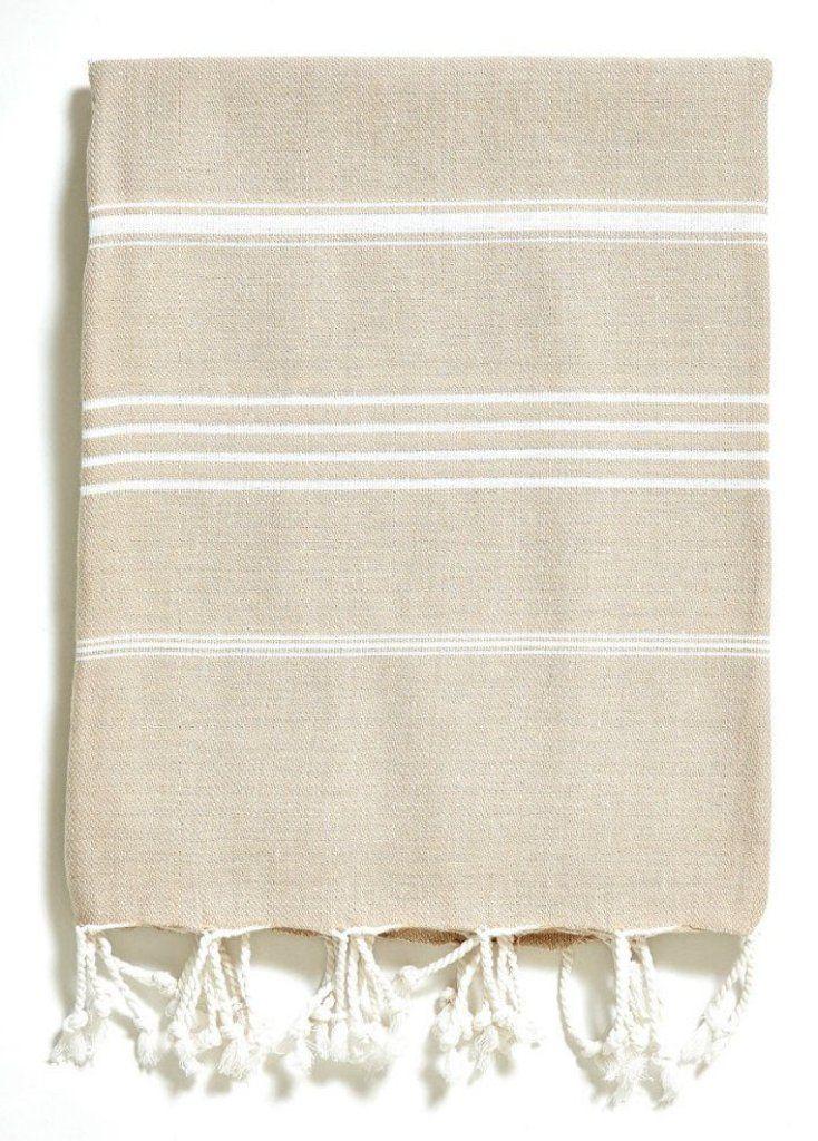 Turkish Hand Towel - Basic Beige