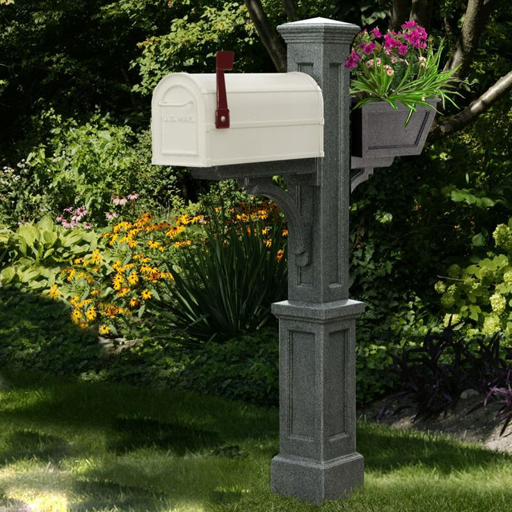 12 best images about unique mailboxes on pinterest for Unique mailboxes with post