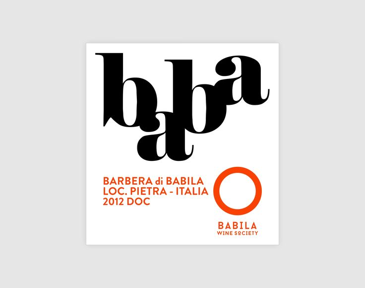 Babila Wine Society label | baba  Happy Brand Makers | food & drink