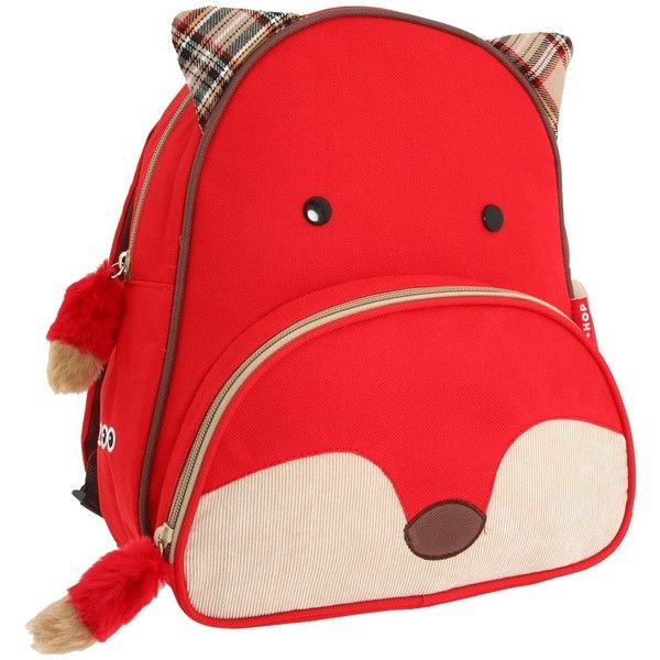 Skip Hop Zoo Pack Backpack ❤ liked on Polyvore featuring bags, backpacks, skip hop backpack, red bag, day pack backpack, red backpack and rucksack bags