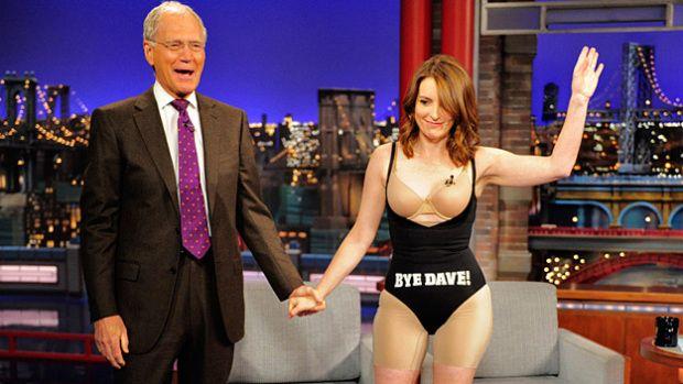 of course she wears #spanx - Tina Fey, Dress, #LastDressEver, Thanks Dave, David Letterman, Tina Fey Dress