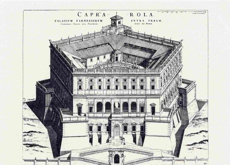 Villa Farnese at Caprarola