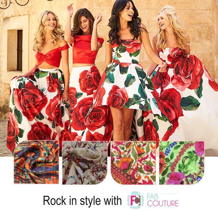 Rock in style  with #FabCouture. Grab your fabric at: https://fabcouture.in/ . #FabCouture! #DesignerFabric at #AffordablePrices  #DesignerDresses #Fabric #Fashion #DesignerWear #ModernWomen #DesiLook #Embroidered #WeddingFashion #EthnicAttire #WesternLook #affordablefashion #GreatDesignsStartwithGreatFabrics #LightnBrightColors #StandApartfromtheCrowd #EmbroideredFabrics