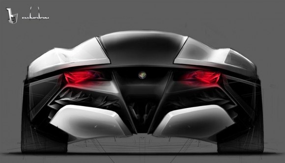 Alfa Romeo 2010 PandionTransportation Design, Body Design, Alfa Romeo, Bertone Pandion, Design Sketches, Romeo Pandion, Pandion Concept, Automotive Design, Pandion Design