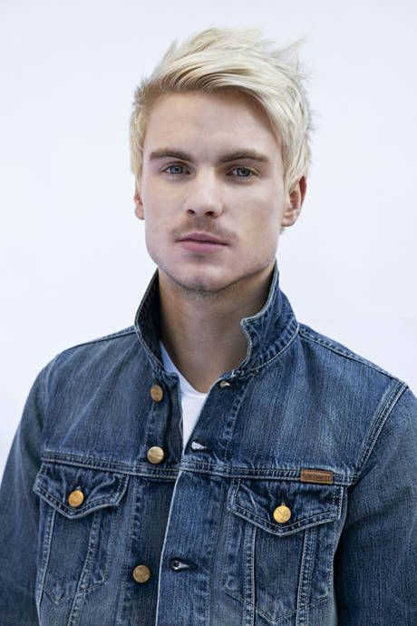 amazing Blond hairstyle male