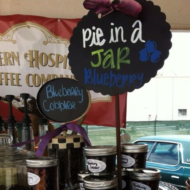 """Southern Hospitality Coffee Company in Sugar Land is featuring Blueberry Cobbler Coffee and """"Pie in a Jar."""""""