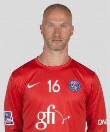 Thierry Omeyer, Goalkeeper of Paris Saint-Germain Handball.