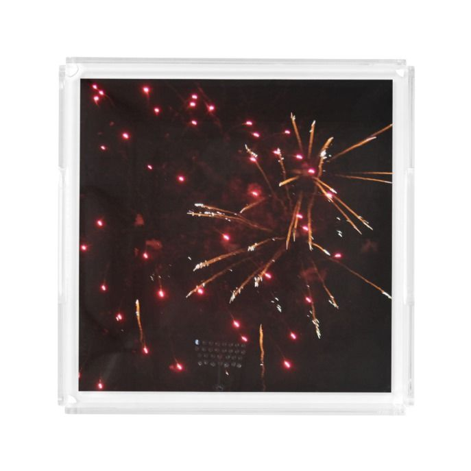 Fireworks Acrylic Tray Custom Square Businesscard Designs Business Cards For You To Fully Cu Acrylic Serving Trays Square Business Cards Design Acrylic Tray