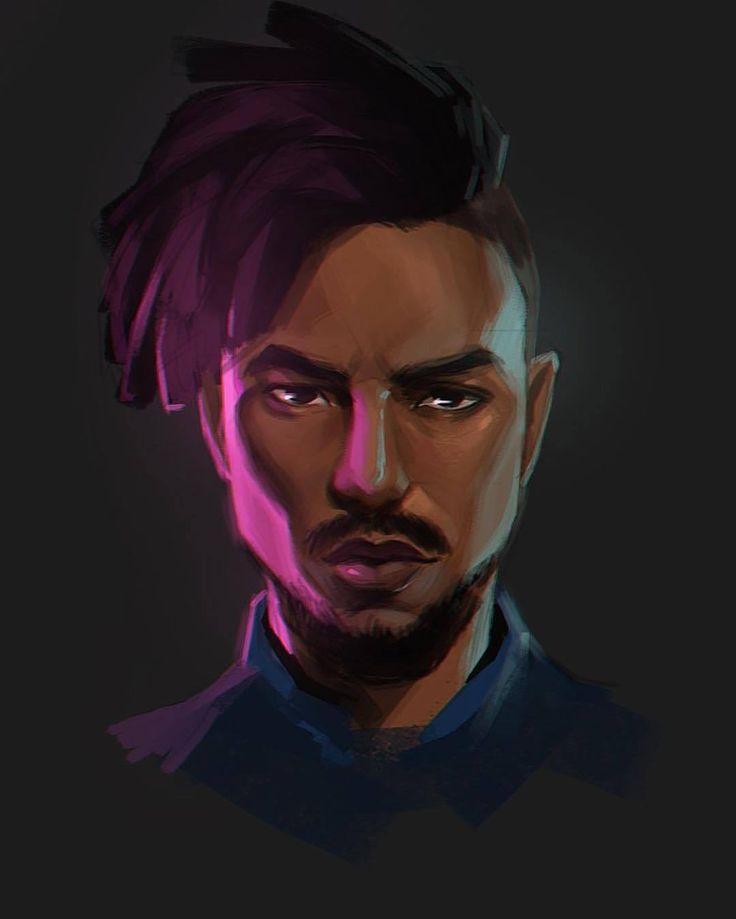 Killmonger illustration by yingjue