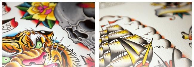 Elevenfourteen vol 1 featuring 180 tattoo artists from for Studio 42 tattoo