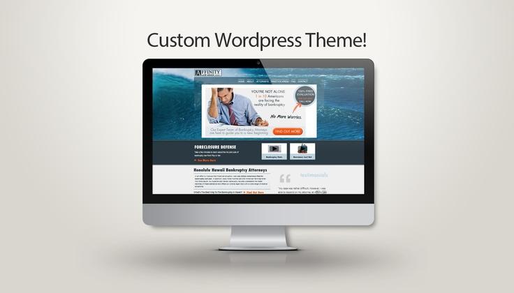 Custom Wordpress Website for Lawyers