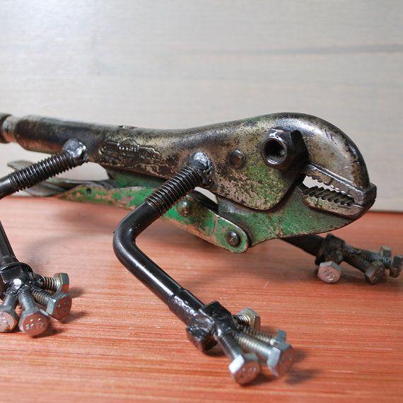 Lizard by TheRustyBolt on Etsy