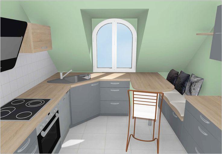 Küche planen Teil 5: alternative Küchenplanung aus der Sicht des Betrachters...welche Küchenwünsche Sie auch haben, wir zeigen es in 3D...www.schachtkuechen.de