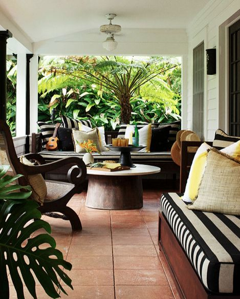 Porch furniture Traditional Home