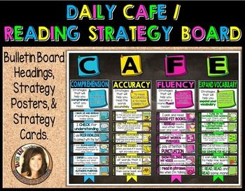Daily CAFE / Reading Strategy Board