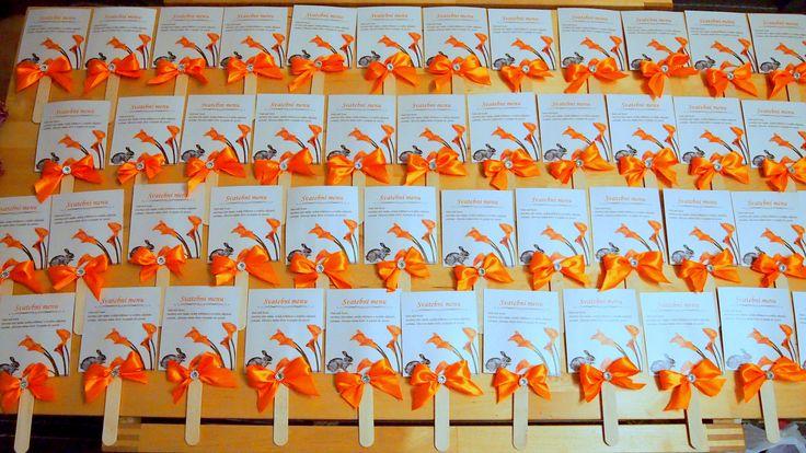 Wedding menu by www.svatbyodvery.cz