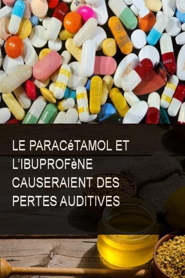 Le Paracetamol Et L Ibuprofene Causeraient Des Pertes Auditives Cause Ibuprofene Perte Convenience Store Pill Convenience Store Products
