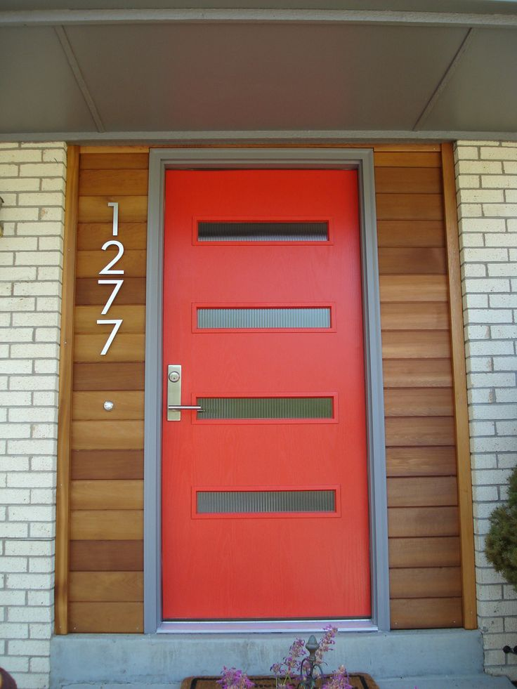 25 best mid century modern exterior house colors images on - Mid century modern exterior doors ...