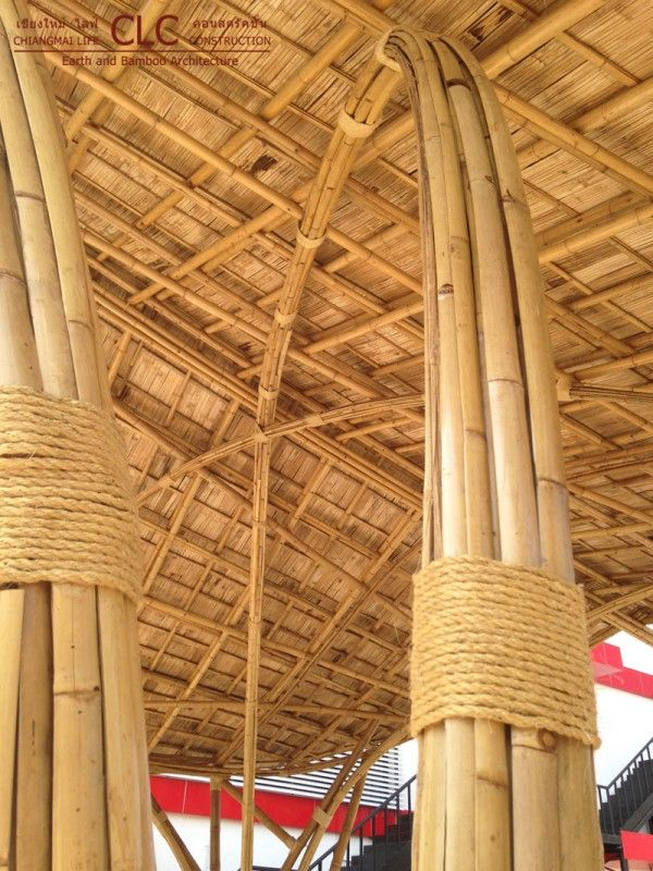 Bamboo Gates At Torch Bamboo Earth Architecture