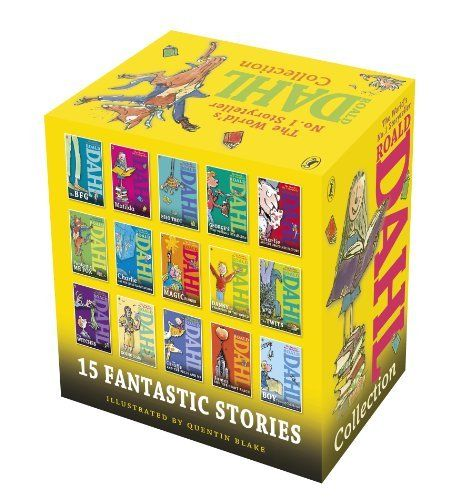 Roald Dahl Collection - 15 Paperback Book Boxed Set by Roald Dahl
