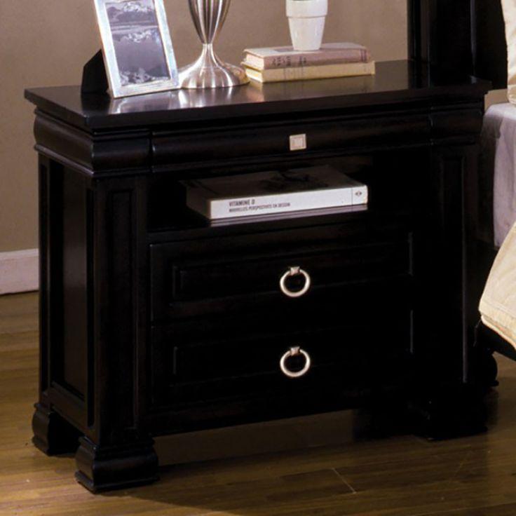 Furniture of America Cambridge Dark Espresso Nightstand