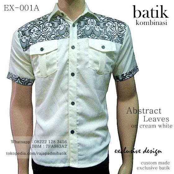 batik kombinasi kain polos, rajapadmi batik, kemeja batik pria, batik modern 2016, seragam batik elegan, seragam kantor batik, kemeja batik kualitas terbaik, INFO & ORDER via WHATSAPP 08222 128 3456, BBM 7FA983A2