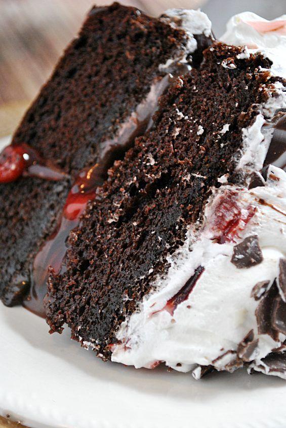 tarta selva negra receta                                                                                                                                                                                 Más