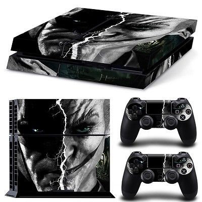 joker batman Skin Sticker Cover For PS4 Playstation 4 Console Controller Decal 2