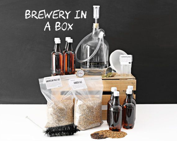 The Brewery in a Box is the ultimate beer making kit which includes all the brew specific equipment and ingredients needed to yield 2 One Gallon                                                                                                                                                                                 More
