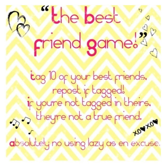 """The best friend tag but I tag friends and people who post cool stuff"" by angelina52 ❤ liked on Polyvore"
