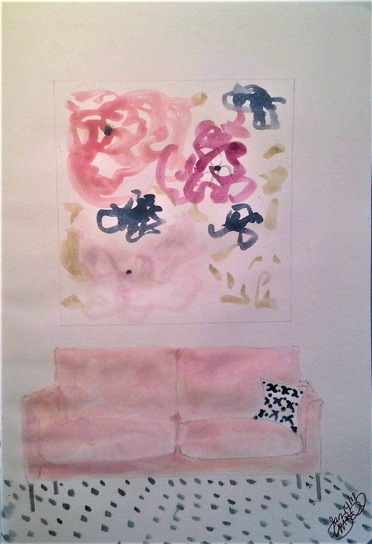 Pink couch daily page Cindy M. Bell