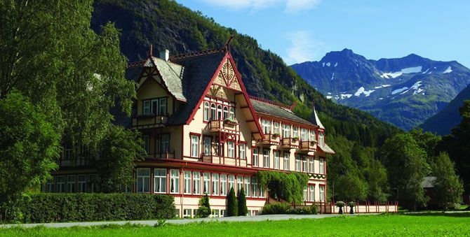 Hotel in Øye: Hotel Union - The historic hotels of Norway