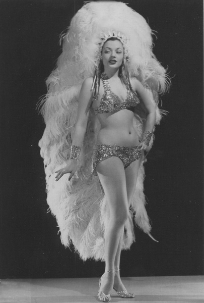 "Princess LaHoma- ""The Sioux Striptease"". 1947"