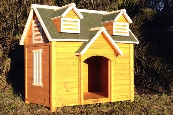 Extra Large The Castle Wooden Dog Kennel