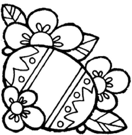 image detail for easter coloring pages easter spring coloring pages