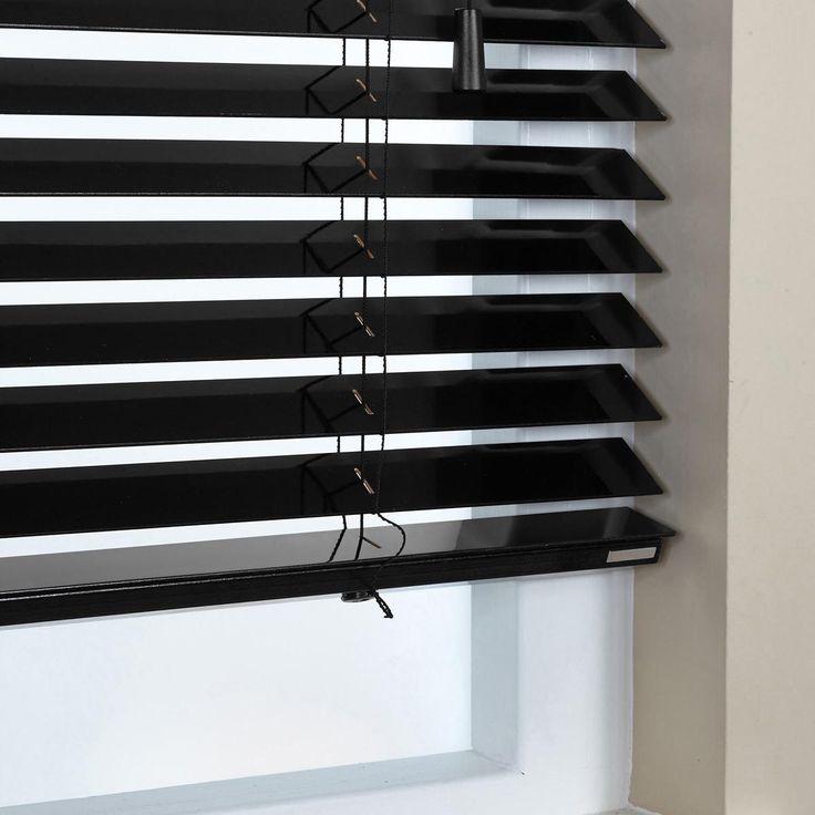 Ξύλινα στοράκια σε γυαλιστερή λάκα/gloss lacquer wooden blinds