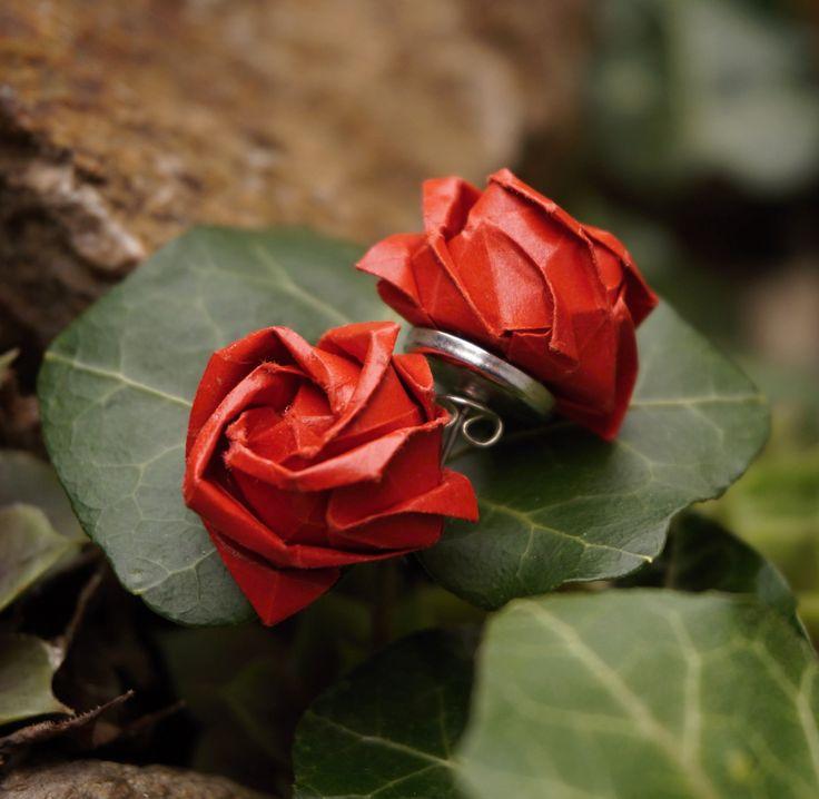 Origami Kawasaki roses